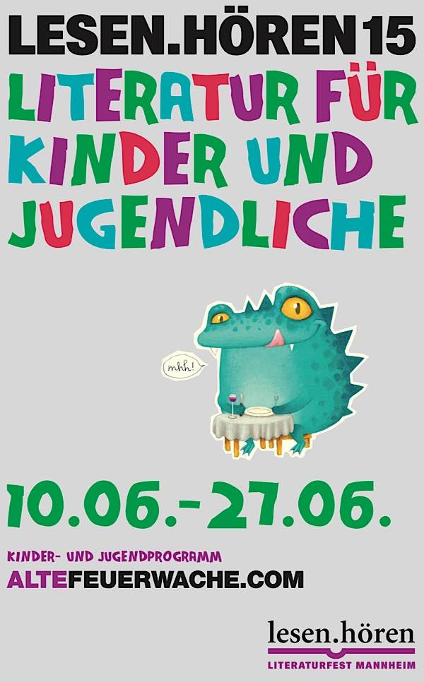 Veranstaltungsplakat (Quelle: ALTEFEUERWACHE Mannheim gGmbH)