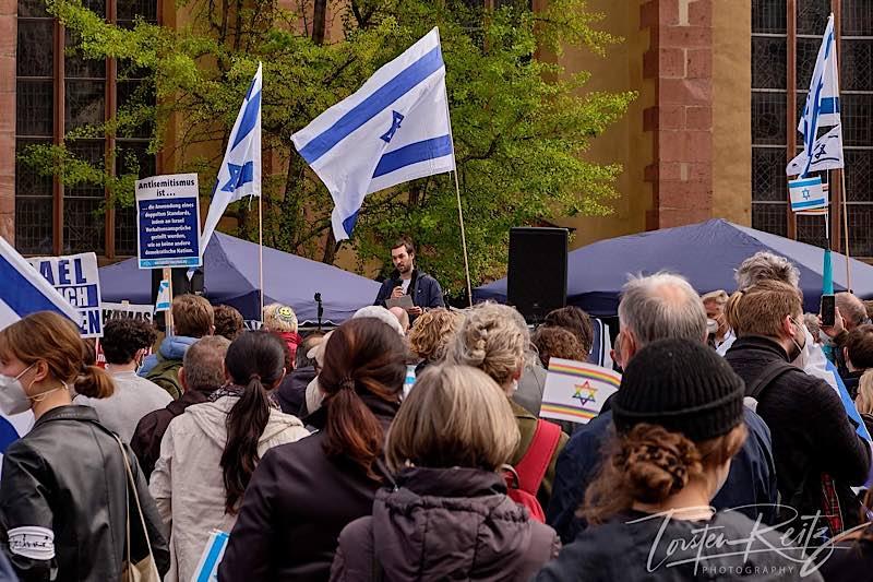 Demo in Frankfurt am Main am 15.05.2021 (Foto: Torsten Reitz)
