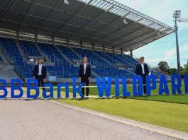 Vorstellung des neuen Stadionnamens (Foto: KSC/GES Sportfoto/Helge Prang)