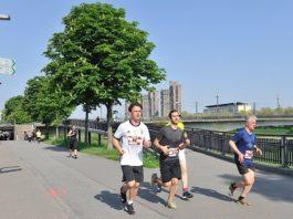 Läufer beim Mannheimer Brückenlauf (Foto: pix Sportfotos)
