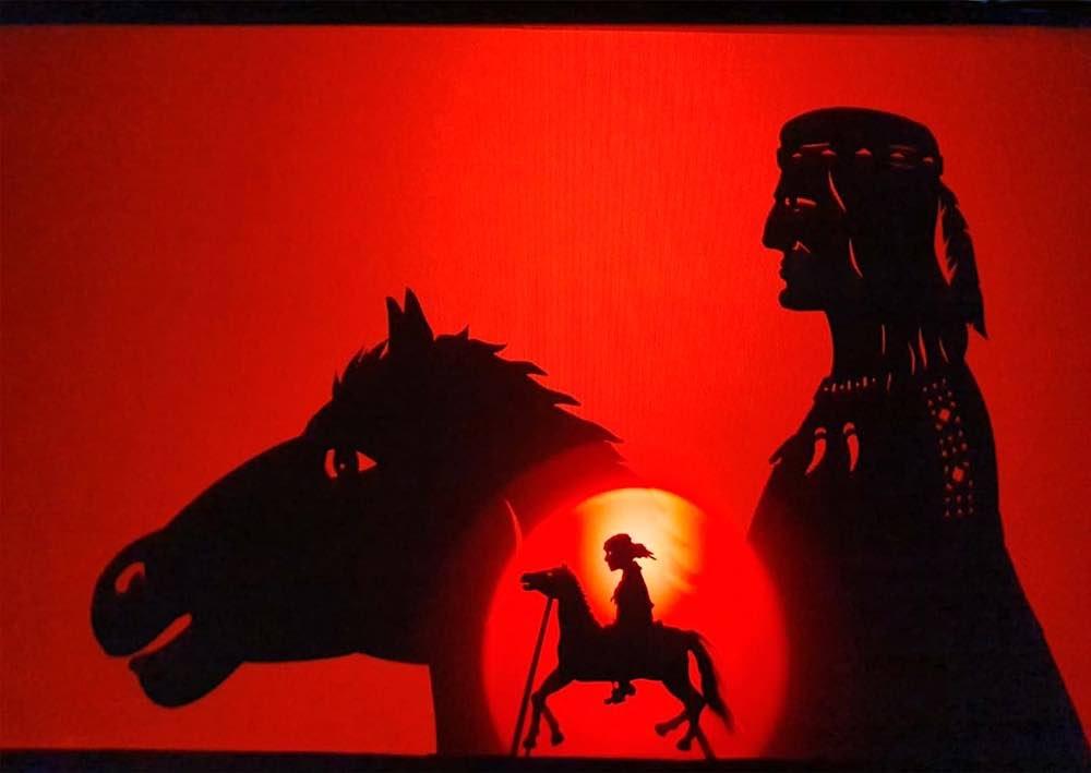 Winnetou (Foto: Figurentheater Marotte)