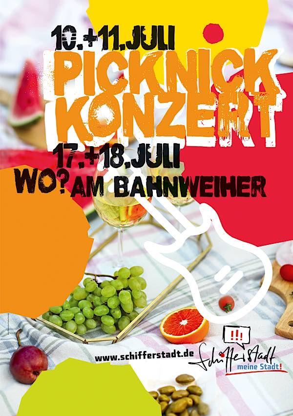 Picknickkonzerte in Schifferstadt (Quelle: Stadtverwaltung Schifferstadt)