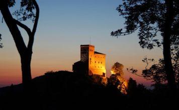 Reichsburg Trifels bei Annweiler (Foto: GDKE Rheinland-Pfalz / Pfeuffer)