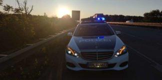 Funkstreifenwagen der Polizeiautobahnstation Ruchheim (Foto: Polizei RLP)