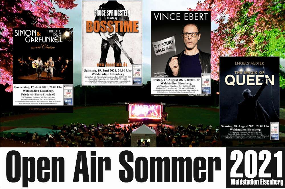 Open Air Sommer 2021 in Eisenberg
