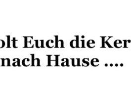 Service zur Elmsteiner Kerwe (Quelle: Förderverein der Elmsteiner Feuerwehr)