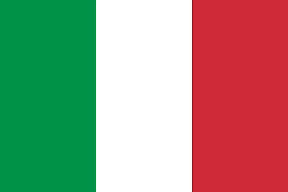 Symbolbild Italien Flagge
