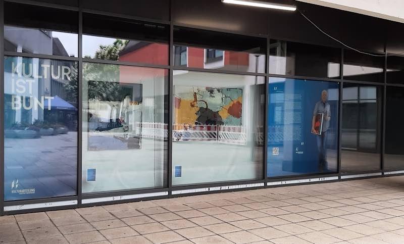 """Ausstellung """"Gerhard Lämmlin"""" (Foto: Stadtverwaltung Neustadt)"""