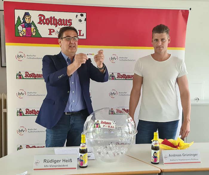 Auslosung bfv-Rothaus-Pokal 2021-22 (Foto: bfv)