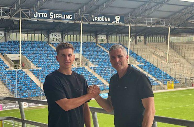 Alexander Rossipal und Jochen Kientz, Sportlicher Leiter (Foto: SVW)