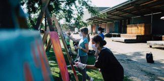 Graffiti-Workshop (Foto: FotoAgenten/A. Löffler)