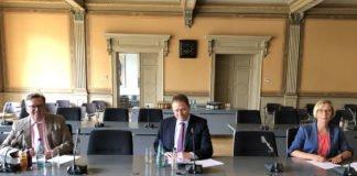 Der offizielle Startschuss des IKZ-Modellprojektes (Foto: Stadt Speyer)