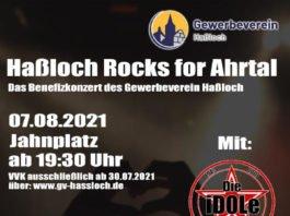 Haßloch Rocks for Ahrtal (Quelle: Gewerbeverein Haßloch)