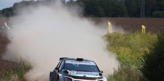 Lokalmatador Marijan Griebel gewann die ADAC Saarland-Pfalz Rallye 2021 (Foto: PR/ADAC e.V.)