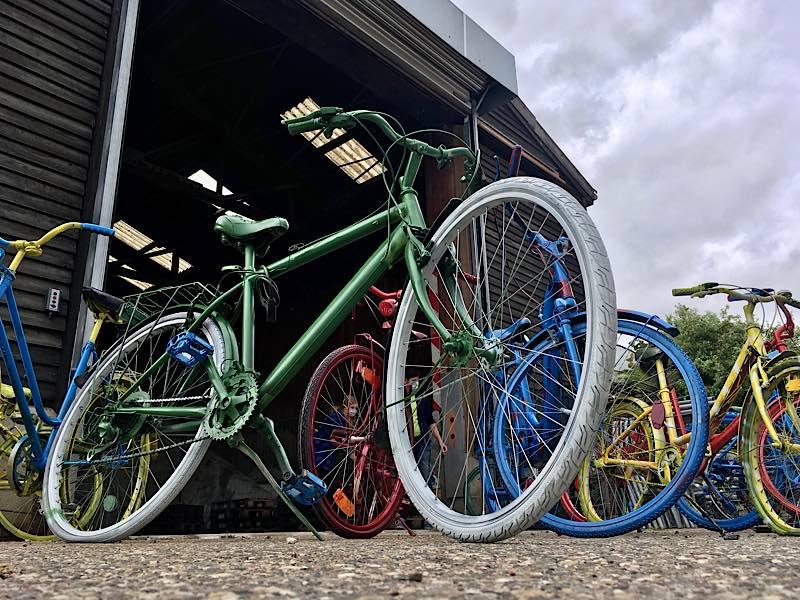 Bunte Fahrräder (Foto: Stadtverwaltung Neustadt)