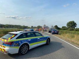 Vollsperrung B271 (Foto: Polizei RLP)