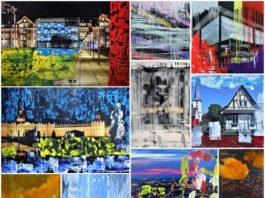 "Collage ""Karlsruhe.Bilder"" (Foto: k/g-projects)"
