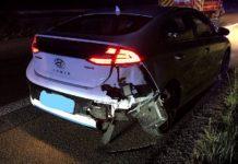 Verkehrsunfall auf der A 65 (Foto: Polizei RLP)