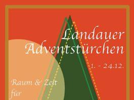 """""""Raum & Zeit für Menschlichkeit"""": Unter diesem Motto finden von 1. bis 24. Dezember die Landauer Adventstürchen statt. (Quelle: Stadt Landau)"""
