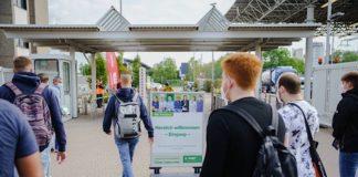 Ausbildungsstart bei BASF: 2021 starten insgesamt 800 Jugendliche und junge Erwachsene bei BASF am Standort Ludwigshafen und im BASF-Ausbildungsverbund ins Berufsleben. (Foto: BASF SE)