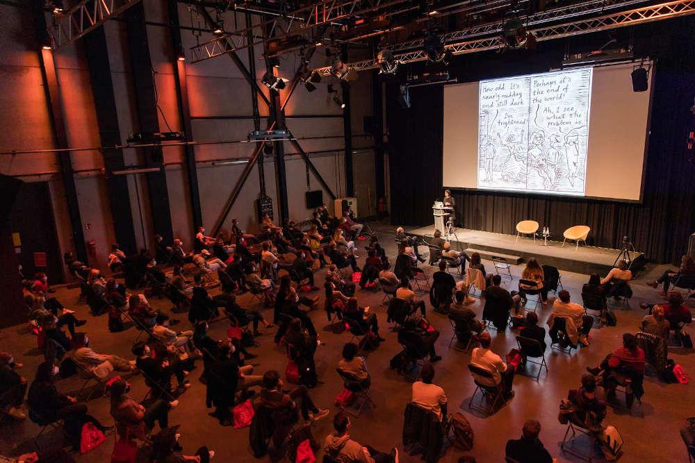 Eröffnung (Quelle: Filmakademie Baden-Württemberg GmbH / Fotografin: Anja Fellerhoff)