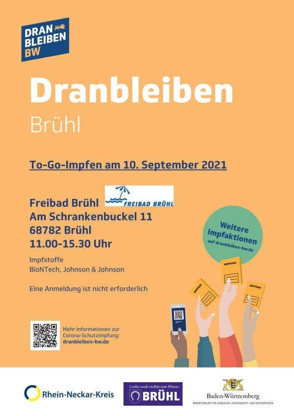 To-Go-Impfen (Foto: Bürgermeisteramt Brühl)