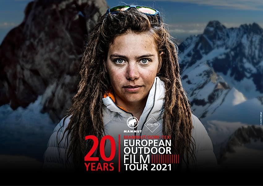 Filmplakat European Outdoor Film Tour