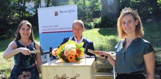 Pfälzische Weinkönigin, SGD Süd-Präsident, Rheinhessische Weinkkönigin (Foto: SGD Süd)