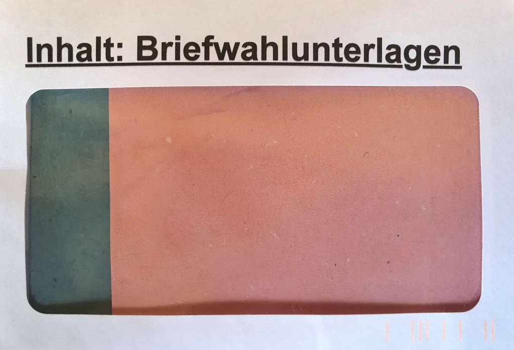 Briefwahl Bundestagswahl