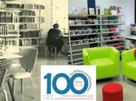 Die Landesbüchereistelle früher und heute: Foto Landesbüchereistelle in Neustadt/Weinstraße in den 50er Jahren und heute (Bildrechte: LBZ)