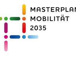 Logo Masterplan Mobilität 2035 (Quelle: Stadt Mannheim, Fachbereich Geoinformation und Stadtplanung)
