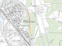 Notwendige Fahrspur-Reduzierung auf der B36 (Quelle: Stadt Mannheim)