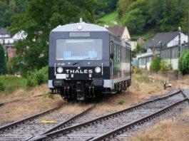 Forschungsfahrt autonom fahrende Schienenfahrzeuge Elmsteiner Tal (Foto: Holger Knecht)