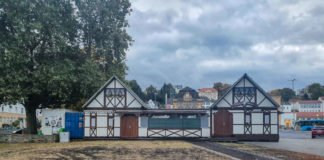 Der Bereich am Bahnhofsvorplatz am 20.10.2021 (Foto: Holger Knecht)