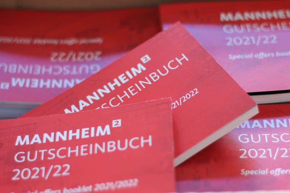 Mannheim Gutscheinbuch 2021/2022 (Foto: Stadtmarketing Mannheim GmbH)