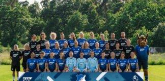 Mannschaftsfoto TSG Hoffenheim Frauenfußballmannschaft (Foto: TSG Hoffenheim)