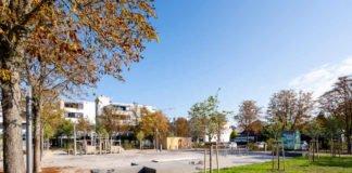 Der im Speyerer Stadtteil Vogelgesang liegende Platz der Stadt Ravenna (Foto: Klaus Venus)