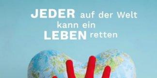 "Plakat ""World Restart a Heart"" (Foto: Sektion Notfallmedizin/Universitätsklinikum Ulm"